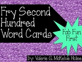 Second Hundred Fry Word Cards