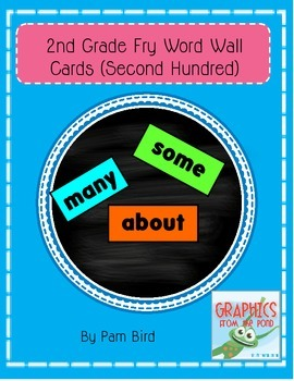 Second Hundred Fry Word Wall Cards