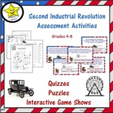 Second Industrial Revolution Assessment Activities