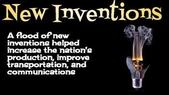 Second Industrial Revolution Google Presentation