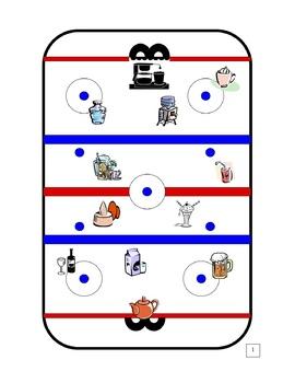 Second Language Board Game (Hockey)