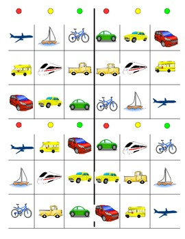 Second Language Part 3 of 3: Transportation unit - class s