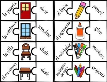 Second Language Puzzles {Spanish/English}