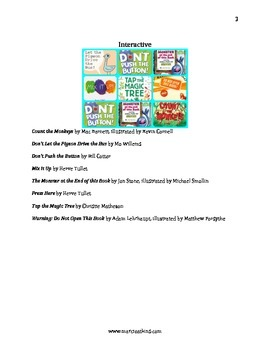 Second Person Point of View Mentor Texts