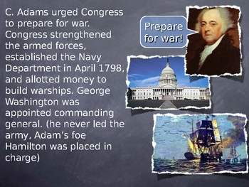 Second President John Adams Notes PowerPoint