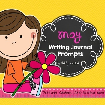 Second Semester Writing Journal Prompts Bundle