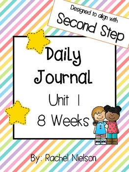 Second Step Daily Journal (1st Grade) - Unit 1