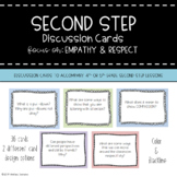 Second Step -Empathy & Respect- Discussion Cards (SEL) Grades 4-5
