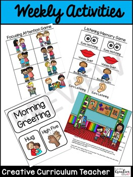 Second Step Early Learning Unit Extension Activities