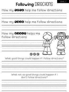 Second Step Printable Pack {First Grade}