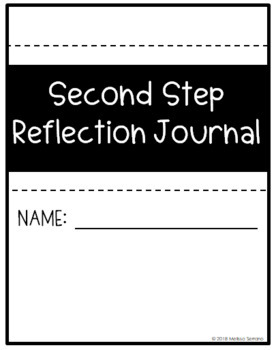 Second Step Reflection Journal - Fifth Grade