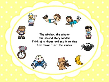 Second Story Window - A Game of Nursery Rhymes
