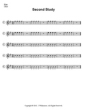 Second Study for Beginning Bands