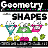 Geometry for 2nd and 3rd Grade - Planar and Solid Shapes