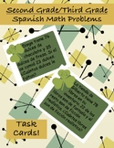 St. Patrick's Day Math - Spanish Word Problems (2.4C and 2