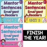 Second, Third, and Fourth Mentor Sentence Units Emergent B