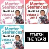 Second, Third, and Fourth Mentor Sentence Units (Vol 3) Bu