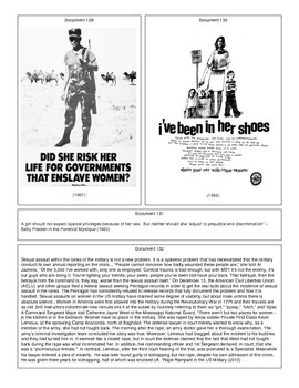 Second Wave Feminism (Document Packet) (2 of 2)