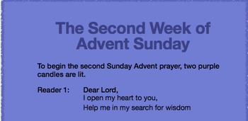 Second Week of Advent