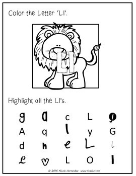 Third Week of Kindergarten Letter Review 'K to 'O'
