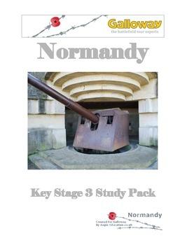 Second World War- D Day - Normandy Study Pack