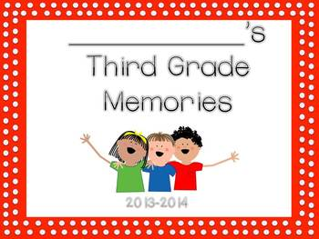 Second and Third Grade Memory Books