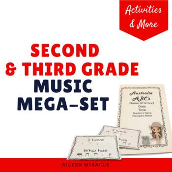 Second and Third Grade Music Mega-Set