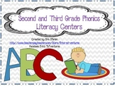Second and Third Grade Phonics Center Activities (Common Core Aligned)