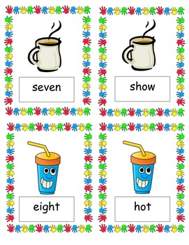 Second and Third Grade Sight Word SPILL! Game (Gr. 2-3, 15 pgs.)