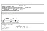 Second and Third Grade Strategies for Solving Addition and