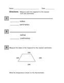 Second grade Measurement Assessment