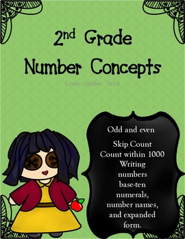 Number Concepts Second Grade