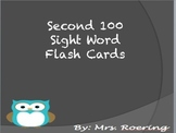 Second hundred Sight Wort Flash Cards