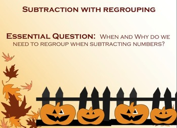 Second/Third Grade Subtraction w/ Regrouping Lesson