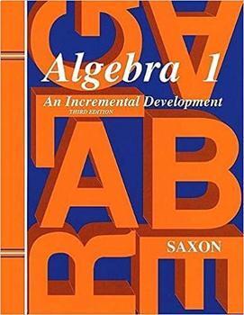 Saxon Secondary 1 Math Powerpoints