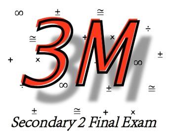 Secondary 2 Final Exam