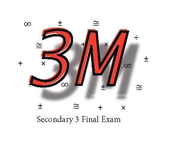 Secondary 3 Final Exam and Resources