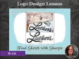 Secondary Art: Elemental Logo Design Lesson