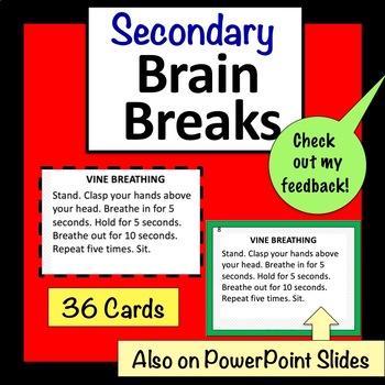 Secondary Brain Breaks