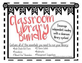 Secondary Classroom Library Essentials - BUNDLE