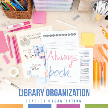 Secondary Classroom Library Resources: posters, borders, banners, labels
