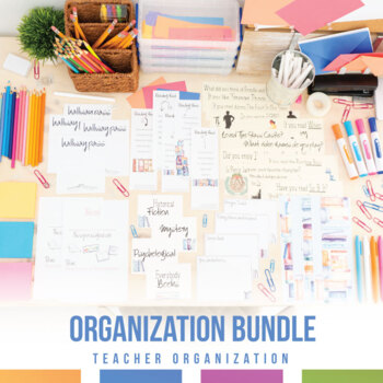 Secondary Classroom Ultimate Organizational Bundle
