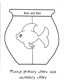Secondary Colors Fish Bowls