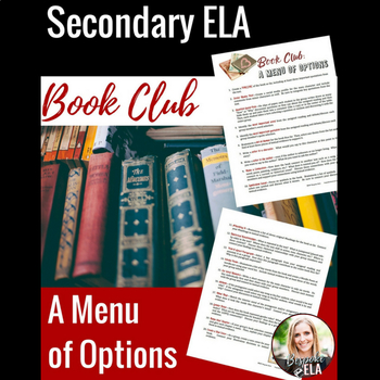 Secondary ELA Book Club:  A Menu of Options