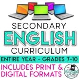 Secondary ELA Curriculum (Google Digital and Traditional P