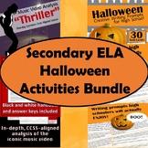 Secondary ELA Halloween Activities