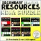 Secondary ELA/ESL Resources MEGA BUNDLE