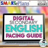 Secondary English Curriculum Pacing Guide for Digital Instruction
