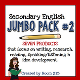 Secondary English Jumbo Pack Two Bundle