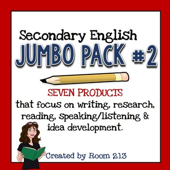 Secondary English Jumbo Pack Two